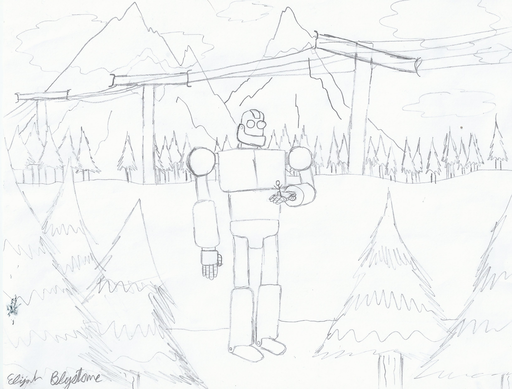 Iron Giant Coloring Pages Coloring