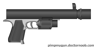 Mk. 17 Laser Pistol by MegaBLYSTONE