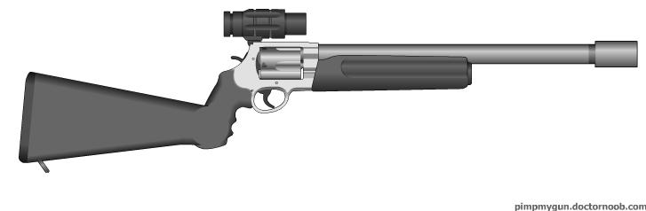 .72 Magnum Anti-Dragon Carbine by MegaBLYSTONE