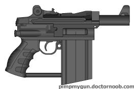 Hand Carbine by MegaBLYSTONE