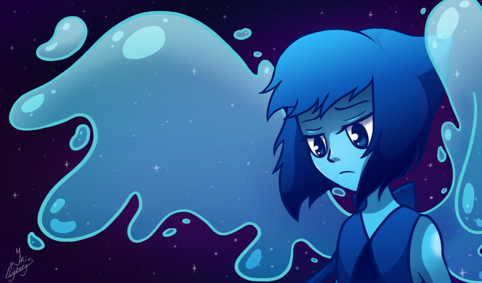 Lapis Lazuli from Steven Universe! See the speedpaint here: www.youtube.com/watch?v=6g_s79…
