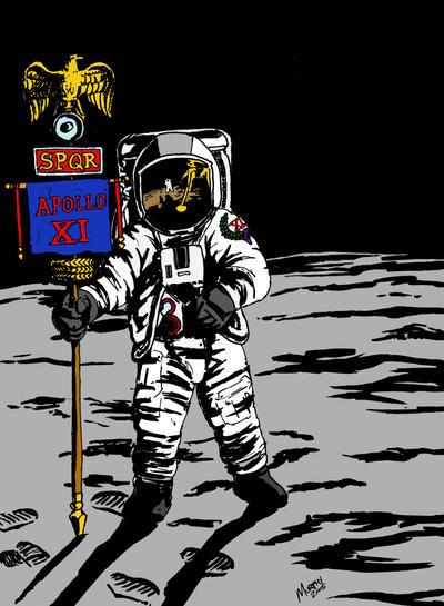 Roman Moon Landing by ~Samurphy0320 on deviantART