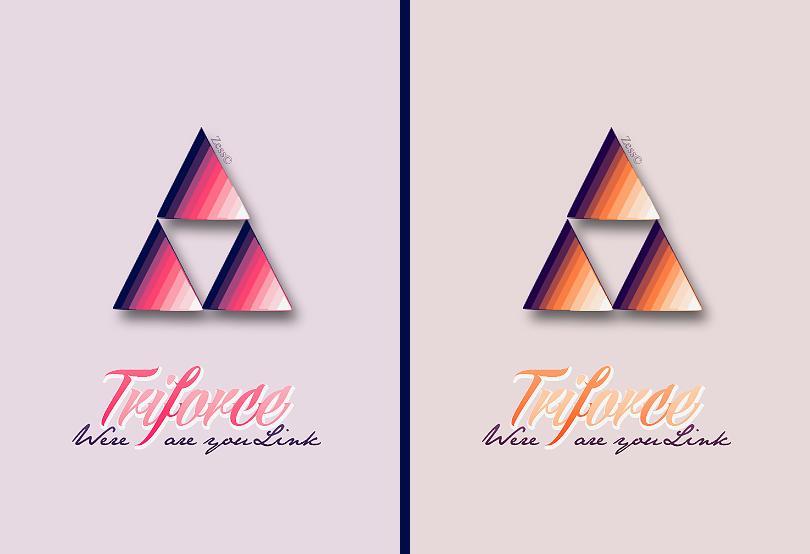 Les niveaux graphiques Triforce_by_okashi_zess-da8pdad
