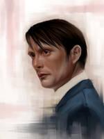 Dr. Hannibal Lecter by v-kosh