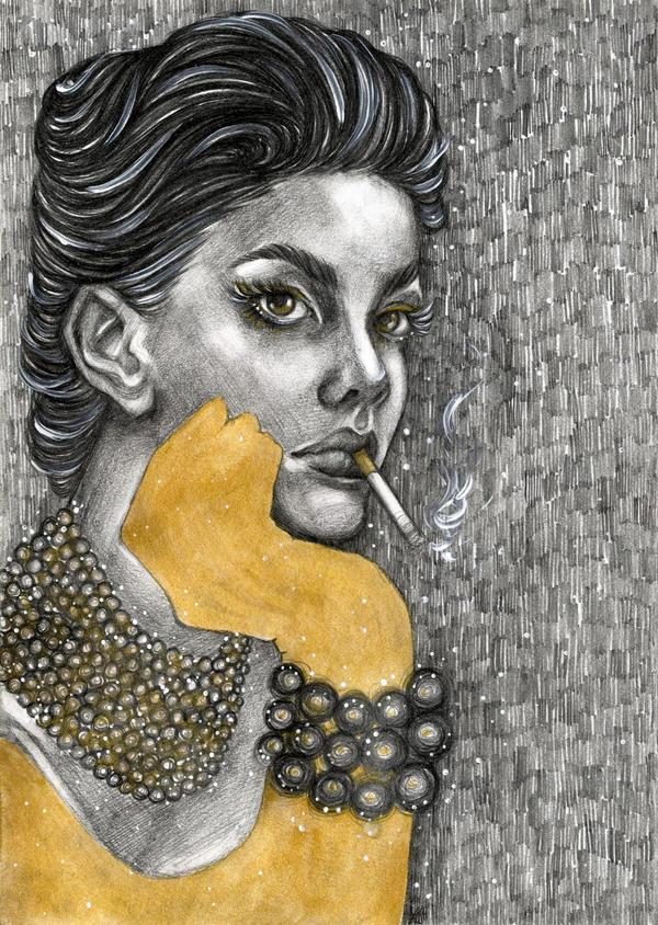 golden girl by v-kosh