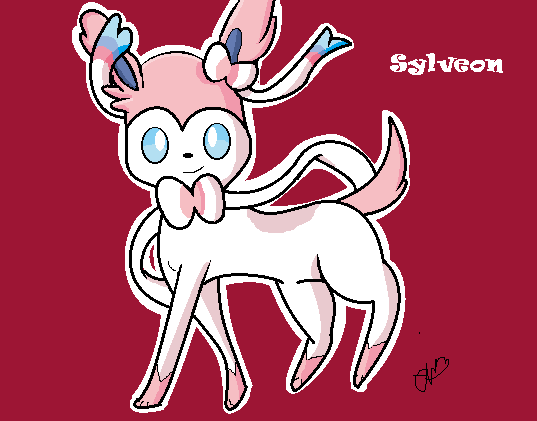 Sylveon by cutiepiegirl95