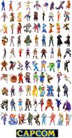 Capcom All-stars by TJE101