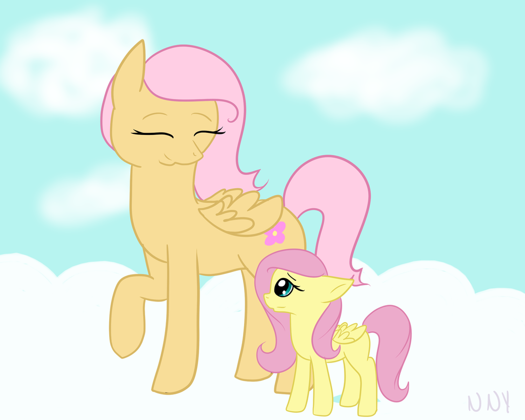Gamemakertechinfo Images Mlp Fluttershys Parents