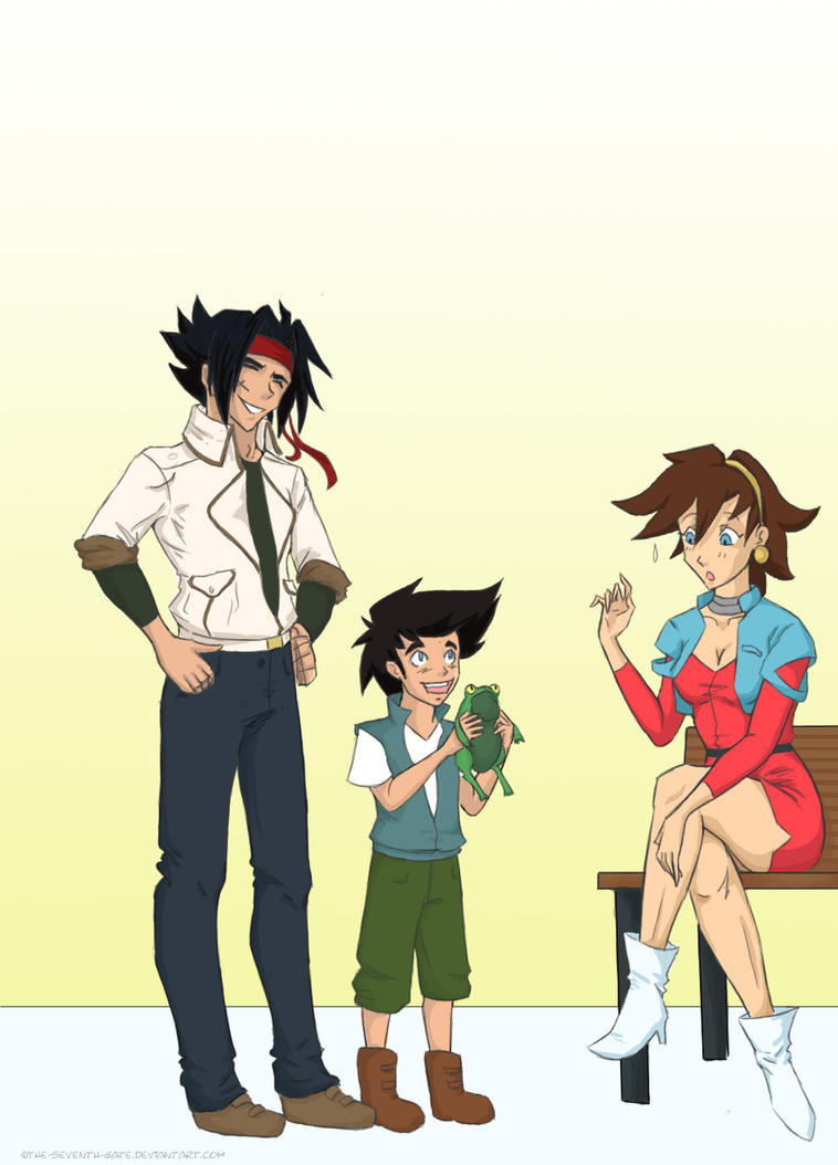 Mom can i keep him by the seventh gate on deviantart for Domon episode 39