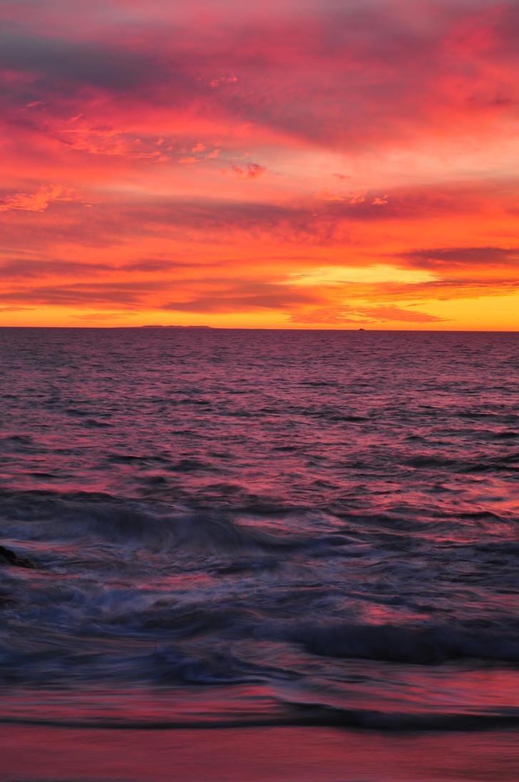 Purple Ocean by silverdragyn7