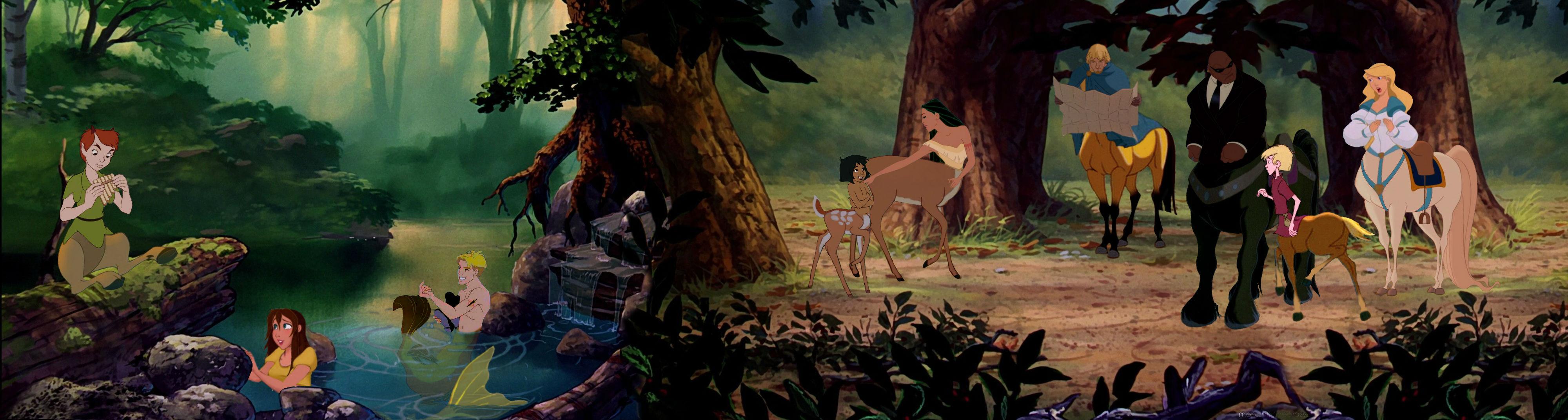 Mythological Disney by deckdarcie