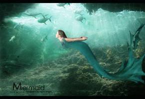 mermaid by MissNightAngel