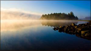 Misty Morning by Joonaaz