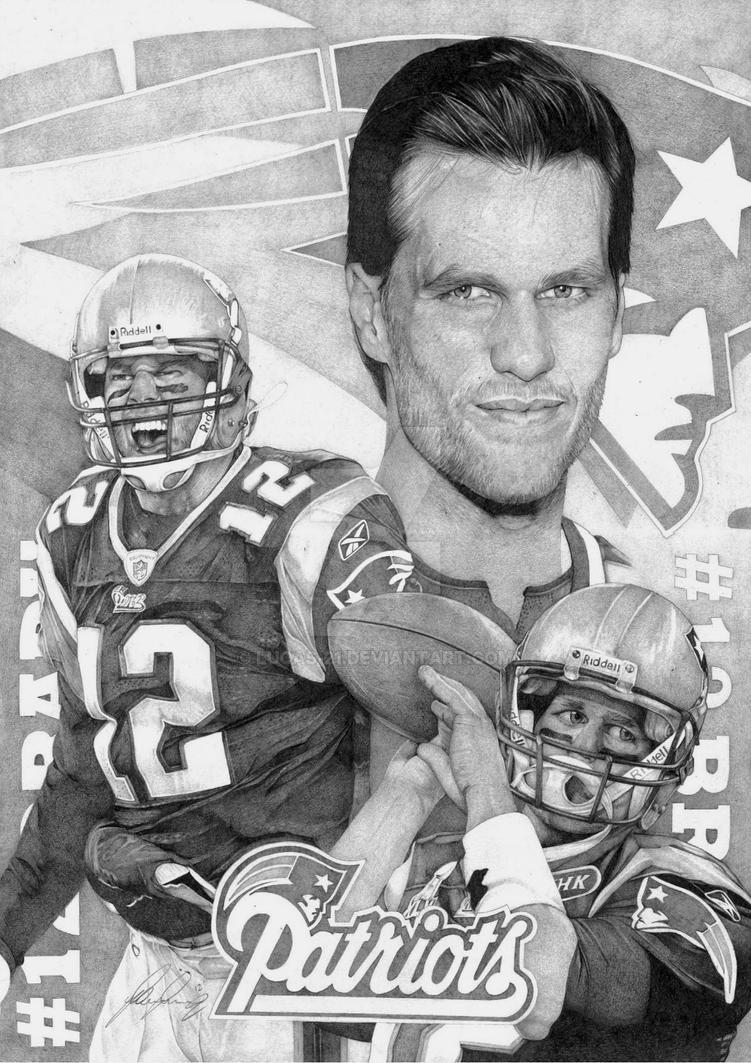 New England Patriot Tom Brady by Lucas-21