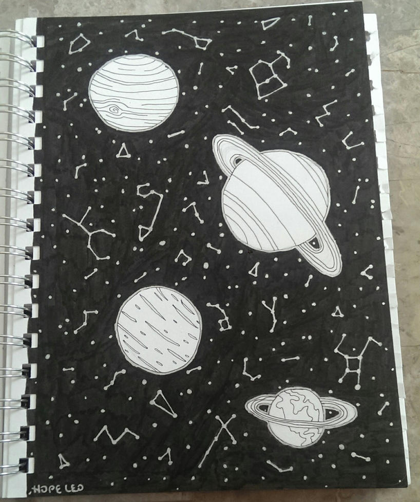 Space by H0pel3o