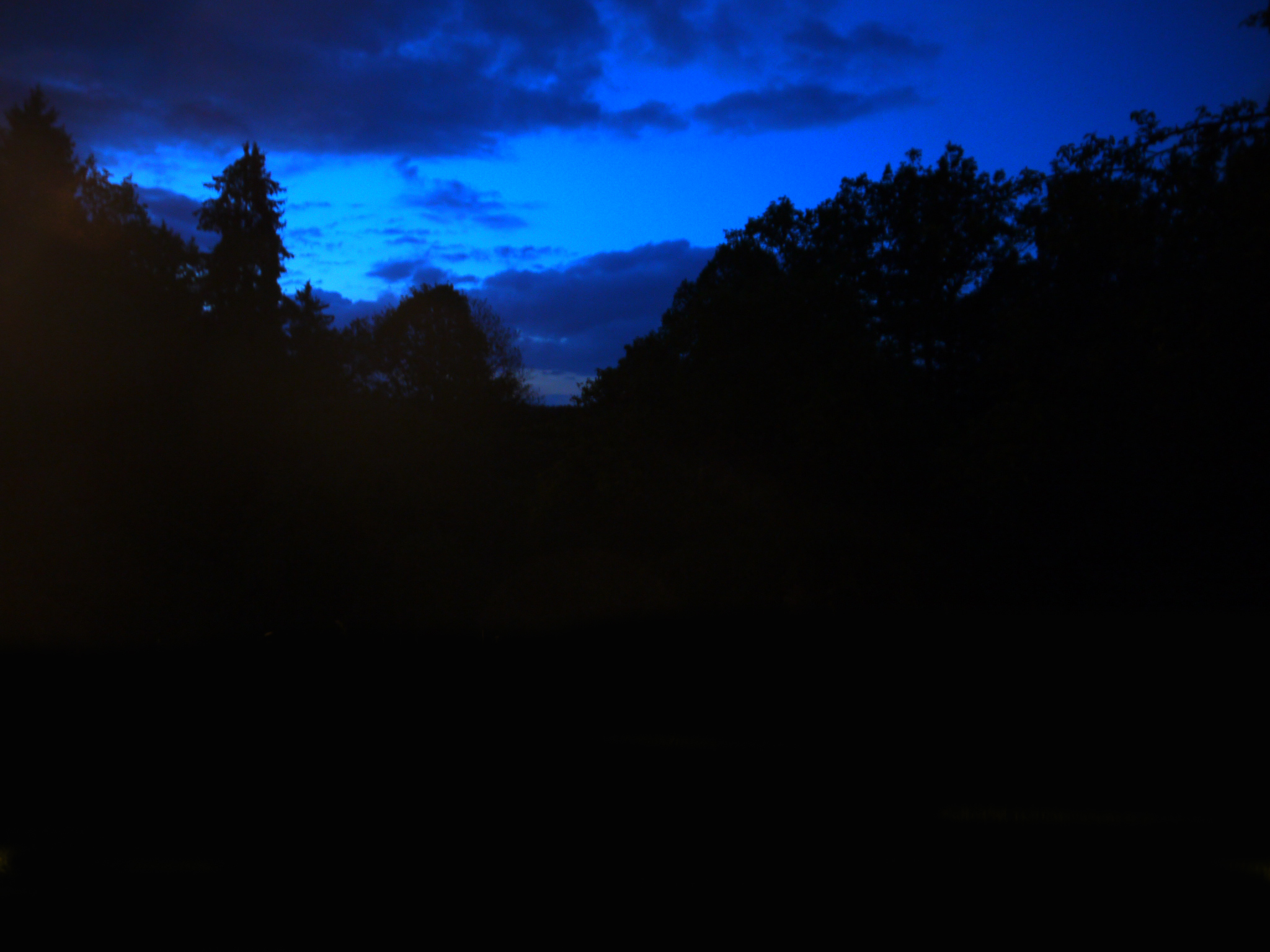 dark blue sky with - photo #41