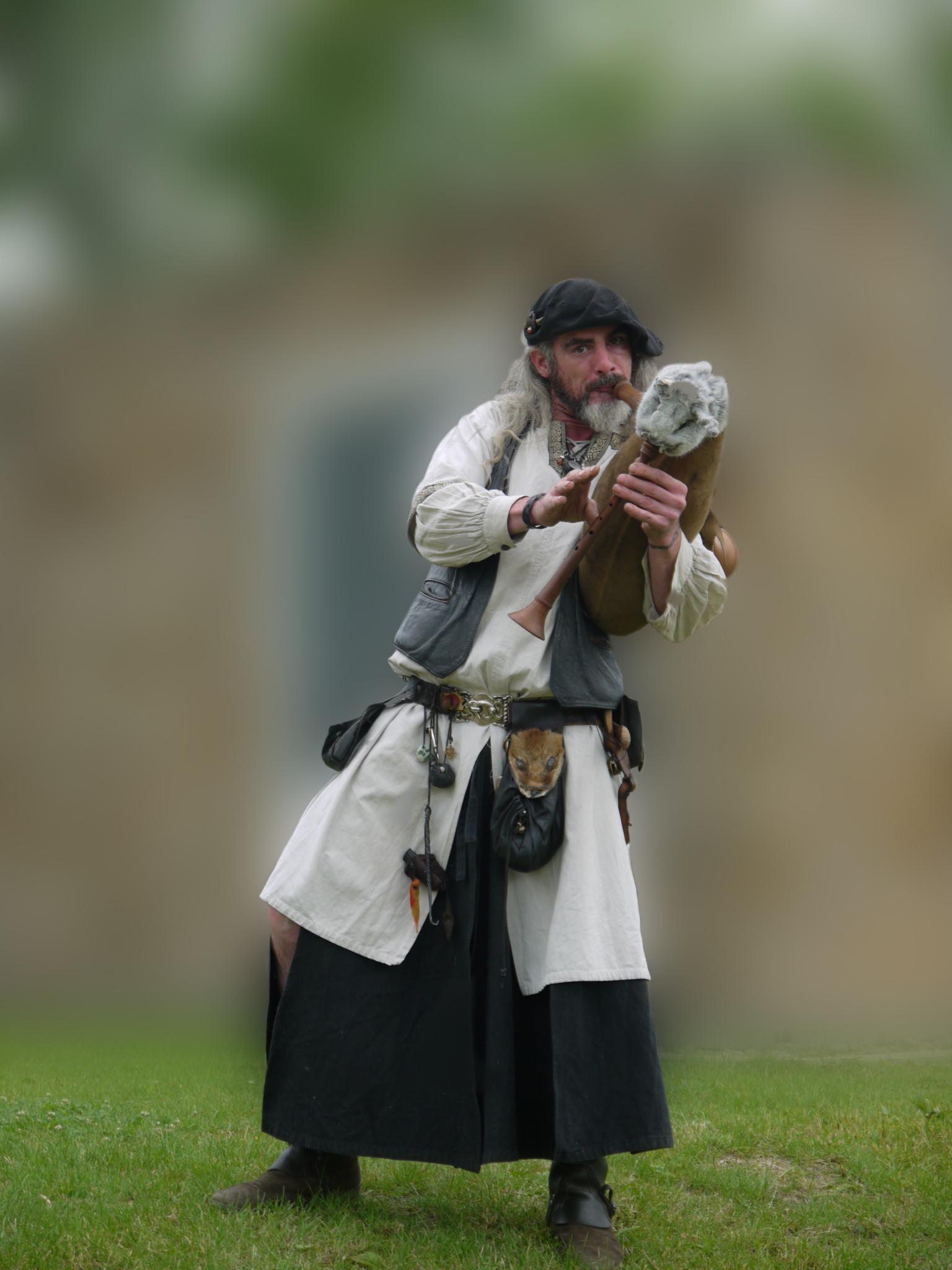 Medieval Gleeman by Dragoroth-stock