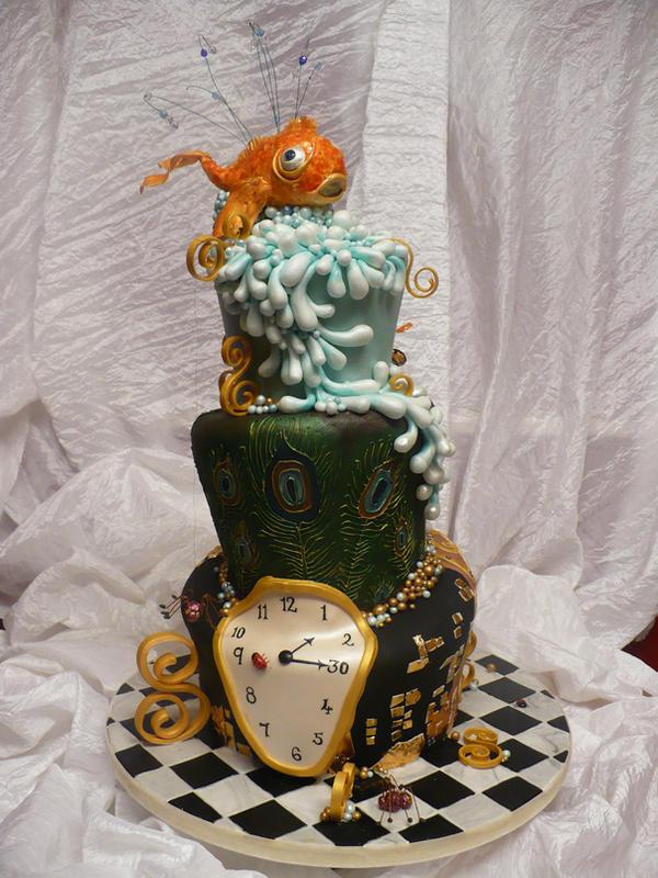 Birthday Cake Salvador Dali