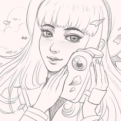 Tomoyo Daidouji (Card Captor Sakura) by Kimopoleis