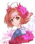 Sakura - Red Feathers