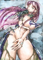 rocket nipple devil woman by luckfield