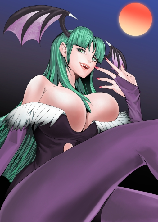 Morrigan WIP by luckfield