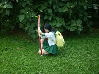 Alexis as Kagome Higurashi by Alexis-Asuka-Rhodes