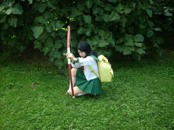 Alexis as Kagome Higurashi by