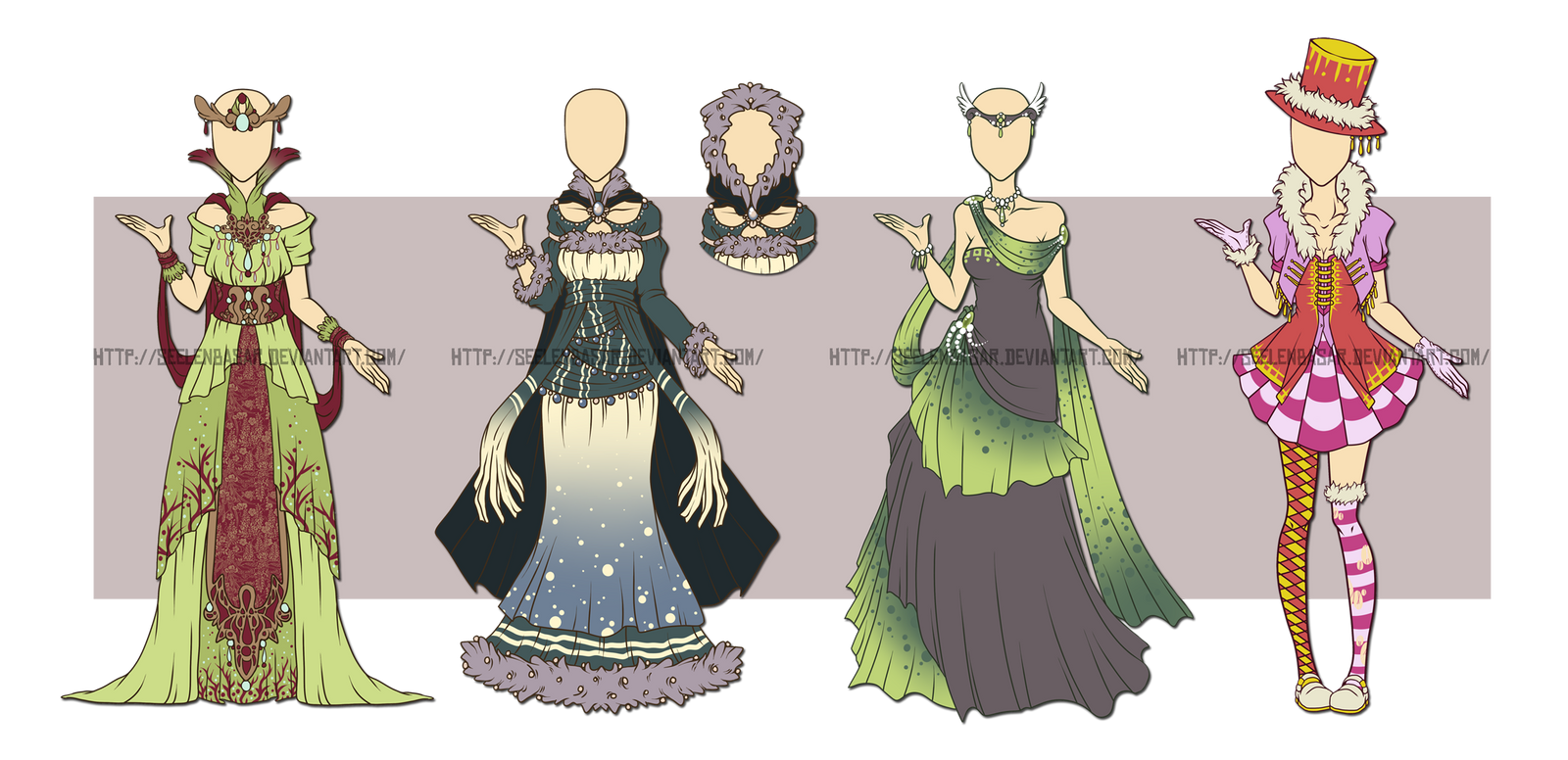 ...Custom Outfit Set - Vicky-Pandora.... by Seelenbasar