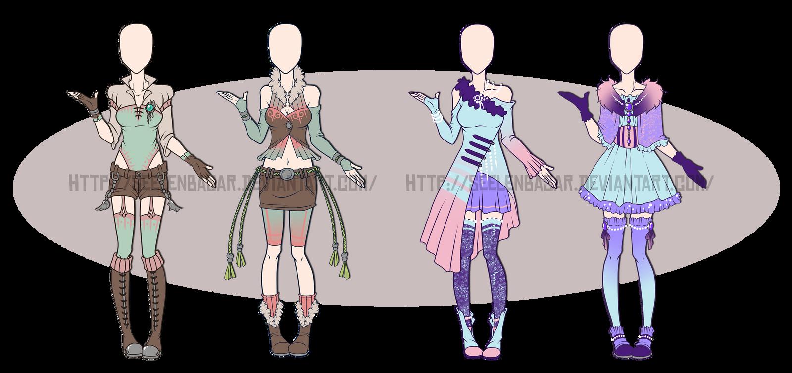 ...Custom Outfit Set - Burscutum.... by Seelenbasar