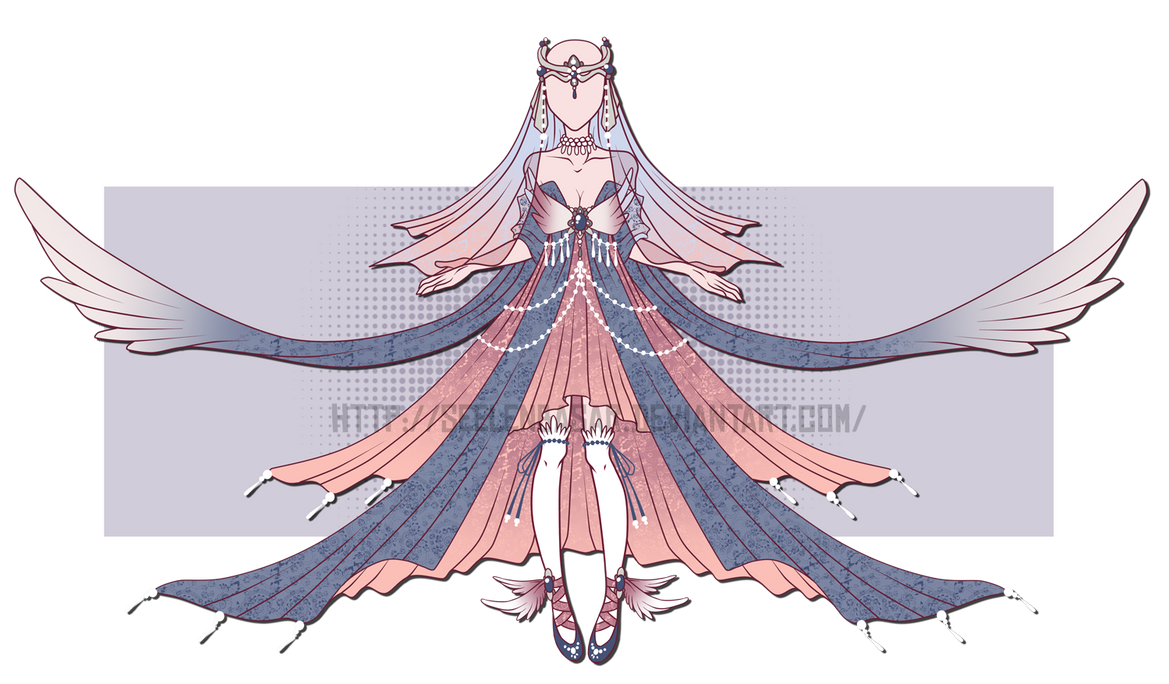 ...Glorious Maiden Dress...AUCTION / CLOSED by Seelenbasar