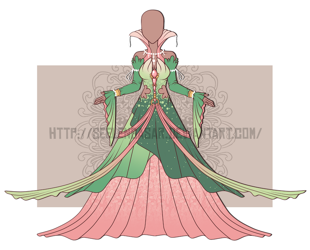 ...Spring Spirit Dress...AUCTION / CLOSED by Seelenbasar