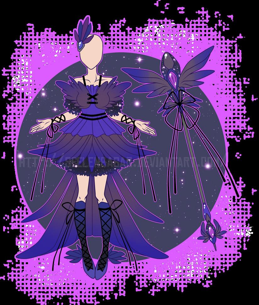 ...Magical Magpie Mistress...Adopt / CLOSED by Seelenbasar