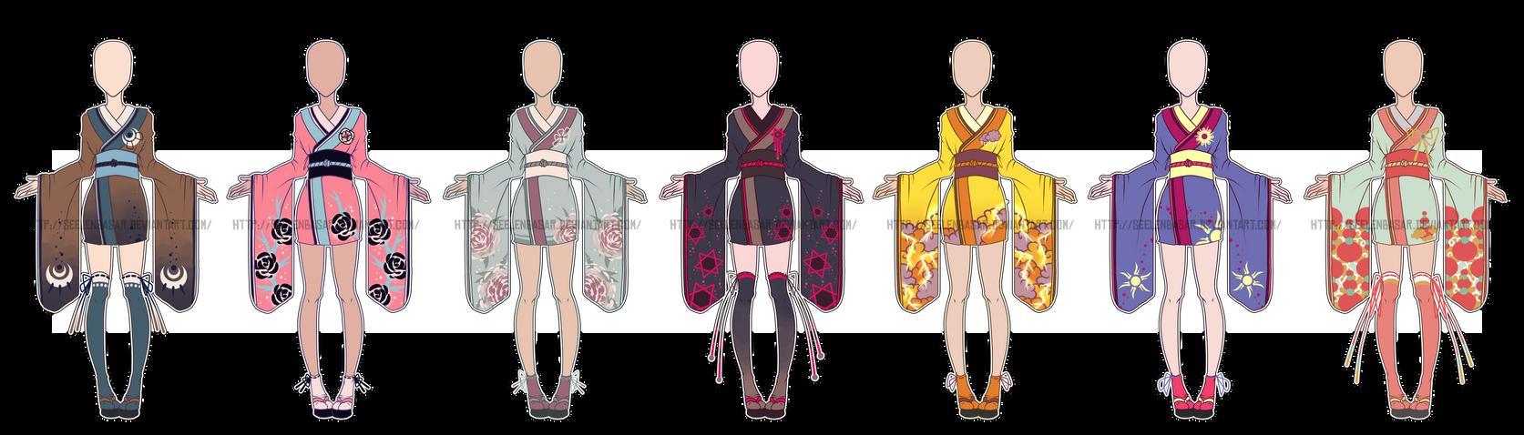 ...Endless Beauty...Kimono Adopts... 0/7 CLOSED by Seelenbasar