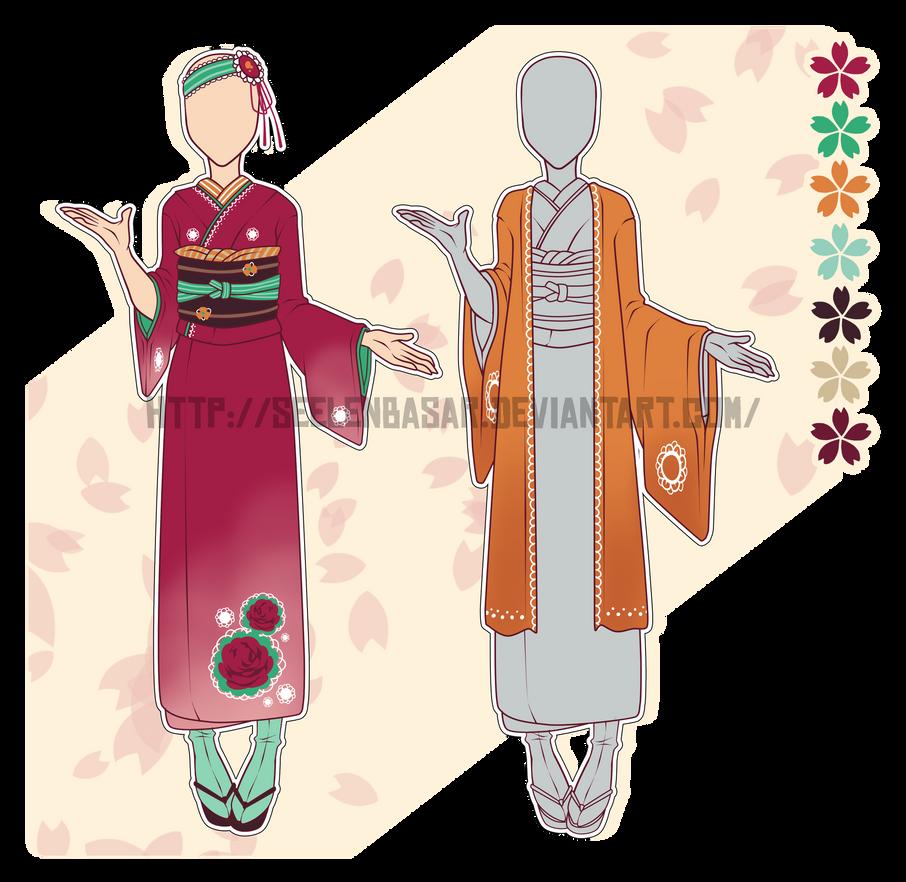...Forbidden Rose... Kimono Adopt // CLOSED by Seelenbasar