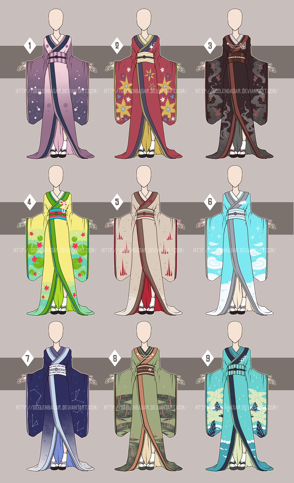 Kimono-battle: open or closed?