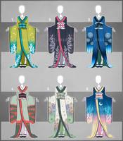 ...Kimonos...Auction [Closed] by Seelenbasar