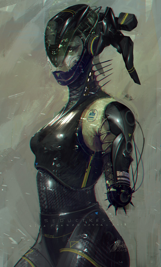 Seductress by sinakasra