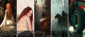 I'm BACK on my Blogspot!!! by sinakasra