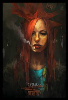 Redhead Smokers Go To Heaven