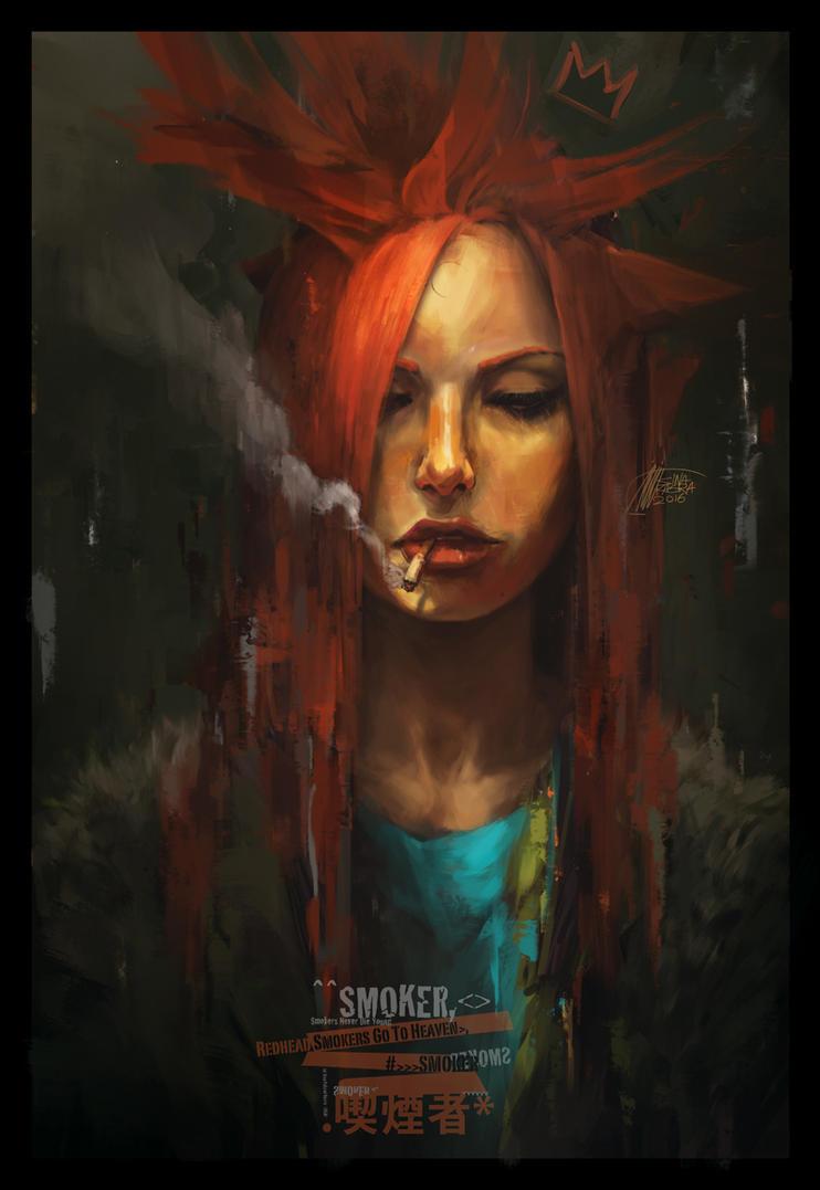 Redhead Smokers Go To Heaven by sinakasra