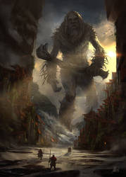 Monster Out of the Woods