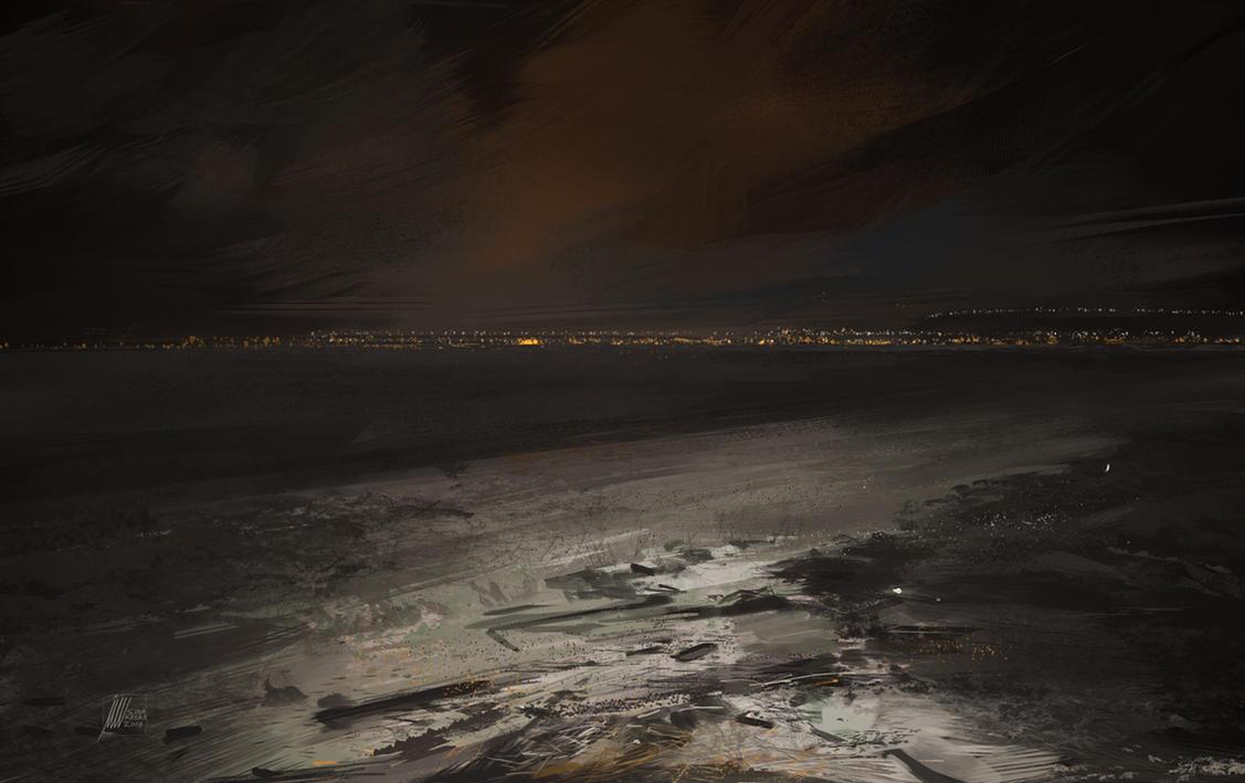 City Lights by sinakasra