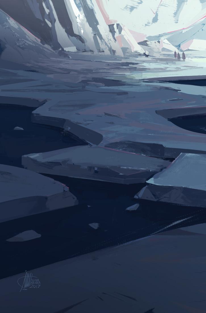 Iceberg by sinakasra