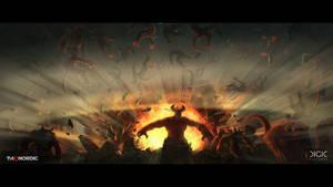 Darksiders Genesis - Keyframe Illustration - 03