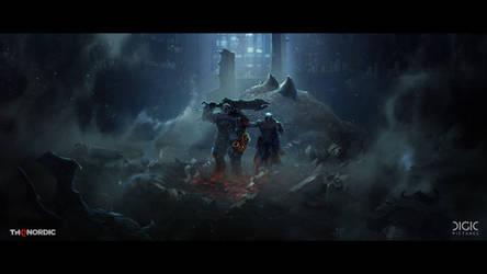 Darksiders Genesis - Keyframe Illustration - 04