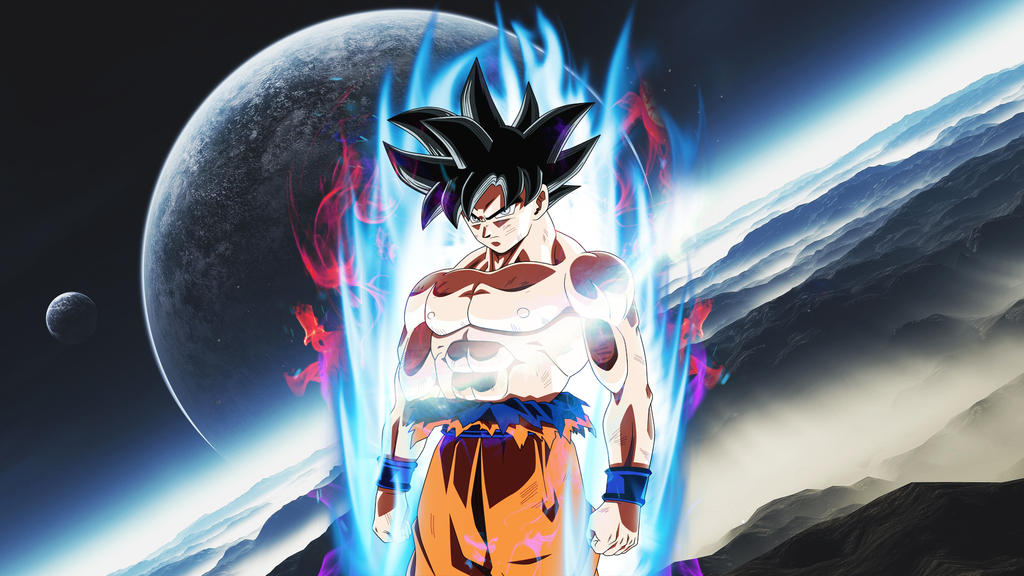 Goku Ultra Instinct Wallpaper Hd: 1024x576px Migatte No Gokui Wallpapers