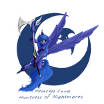 Princess Luna - Huntress of Nightmares