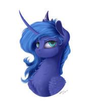 Luna :3 by Skitsniga