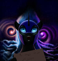 Nightmare Moon by Skitsniga